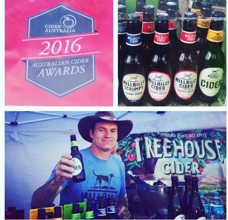 "A Double ""Best in Class"" in the 2016 Australian cider awards"