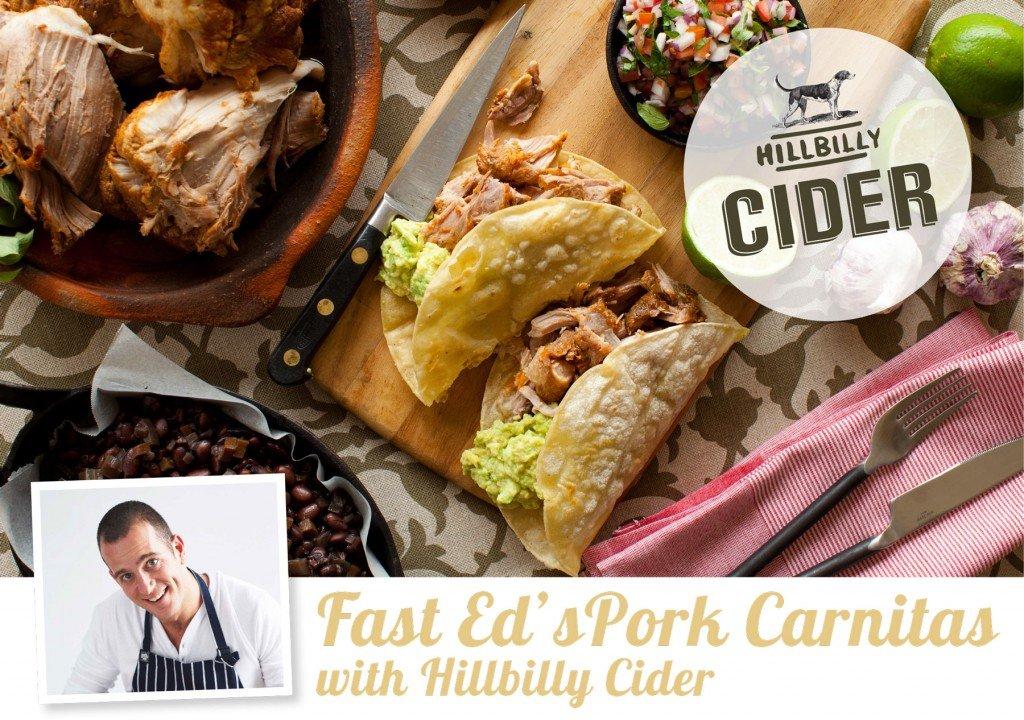 Fast eds pork carnitas with hillbilly cider porkteaser forumfinder Images